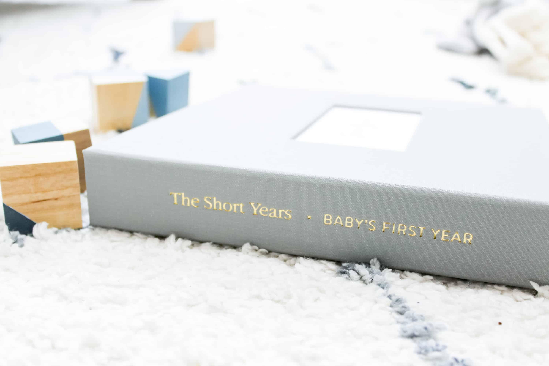 the short years best baby memory book