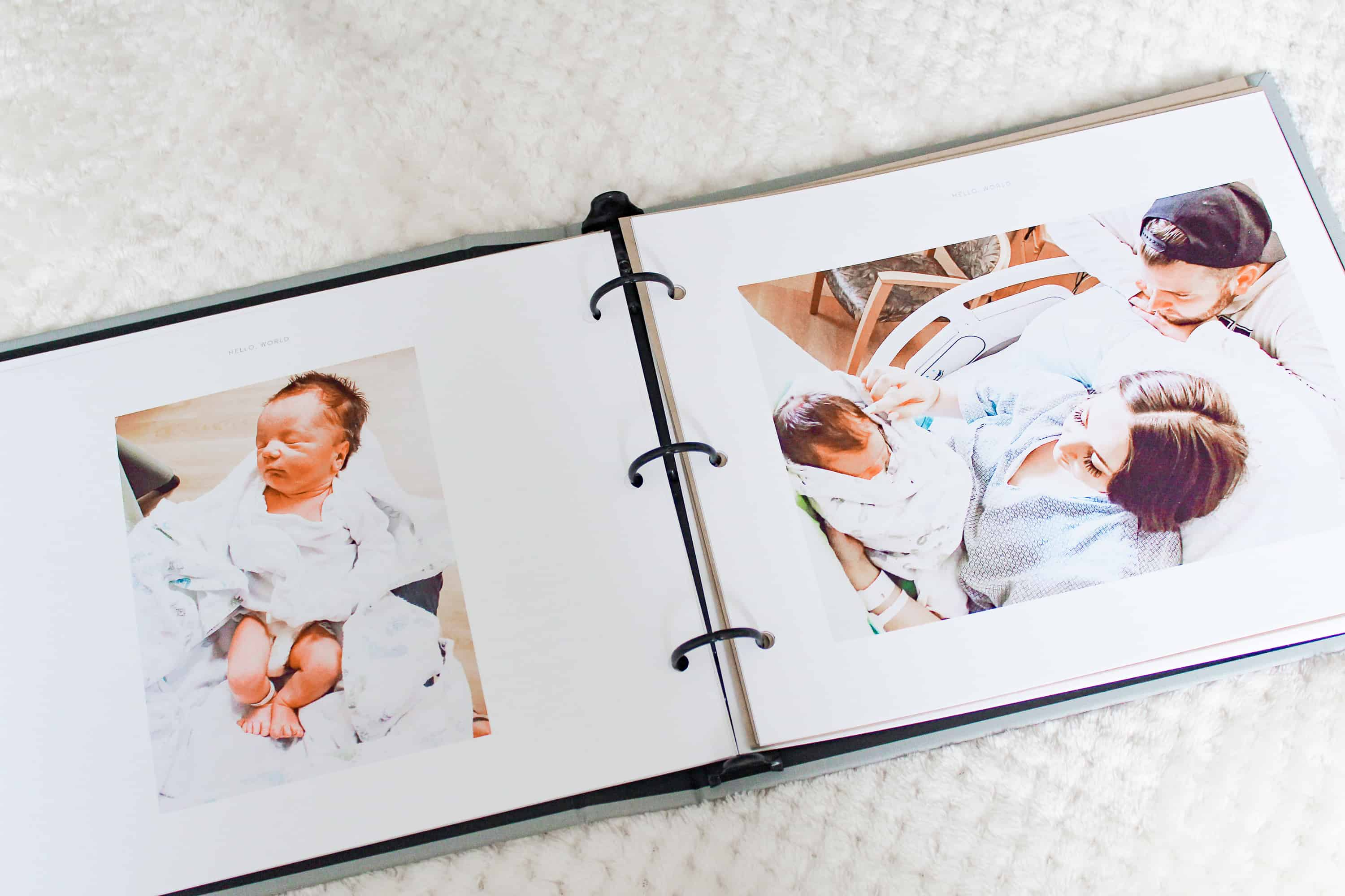 best baby memory book babys first year book