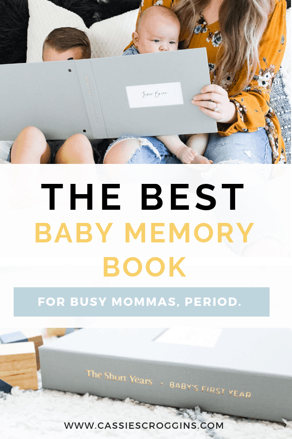The Best Baby Memory Book Period. – A Modern Baby's First Year Book Made in 5 Minutes a Week