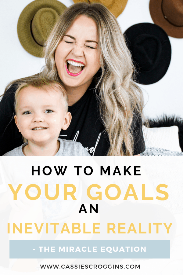 How to Make your Goals an Inevitable Reality  – The Miracle Equation