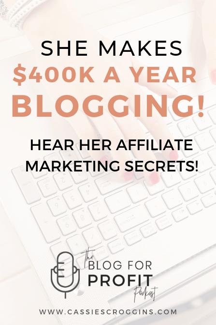 make money with affiliates