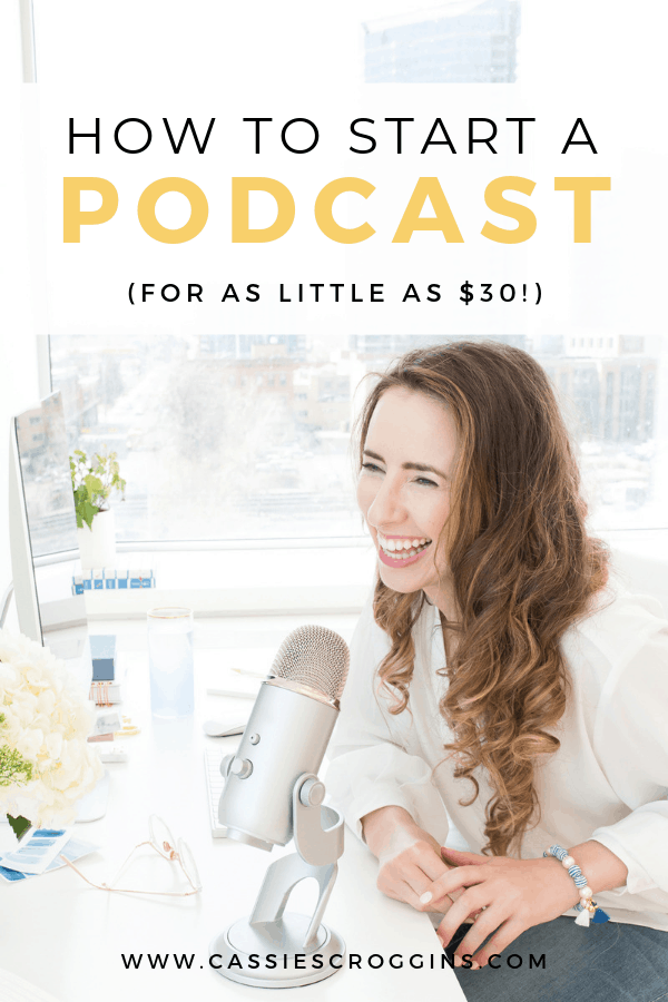 how to start a podcast cheap
