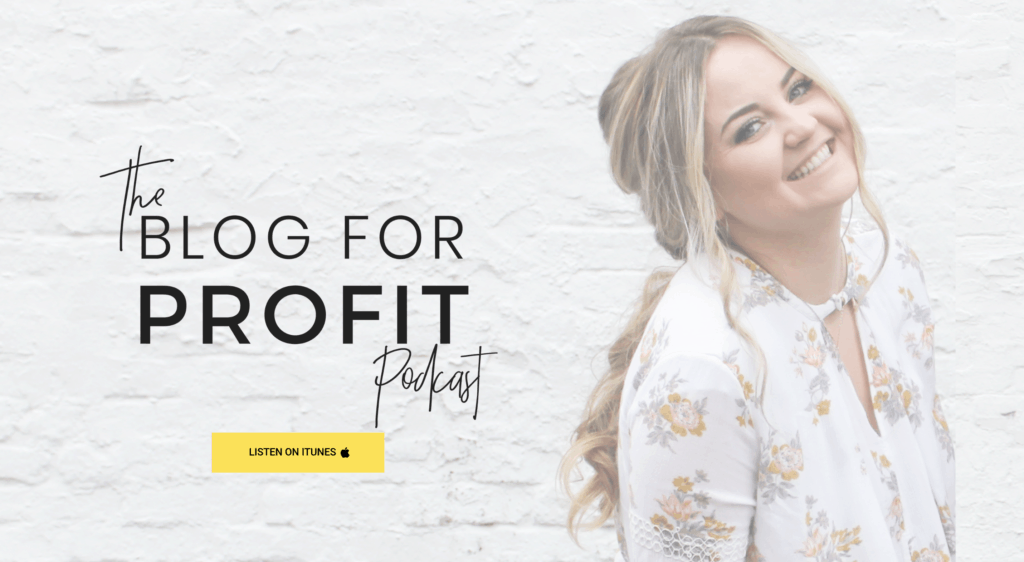 blog for profit podcast website
