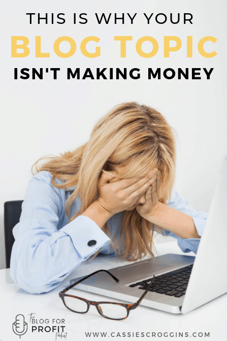money making blog topic