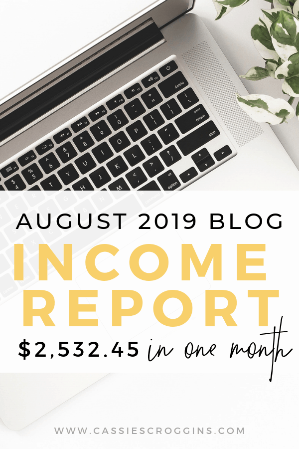 $2,532.45 In One Month Blogging without actually blogging!