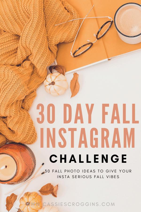 fall photo challenge instagram
