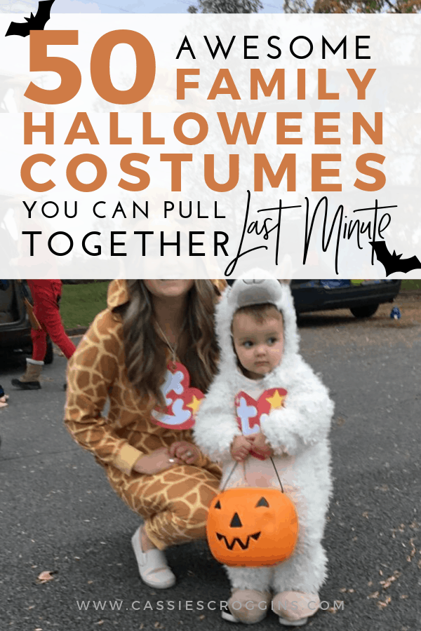 50 Awesome DIY Family Halloween Costumes You Can Pull Together at The Last Minute