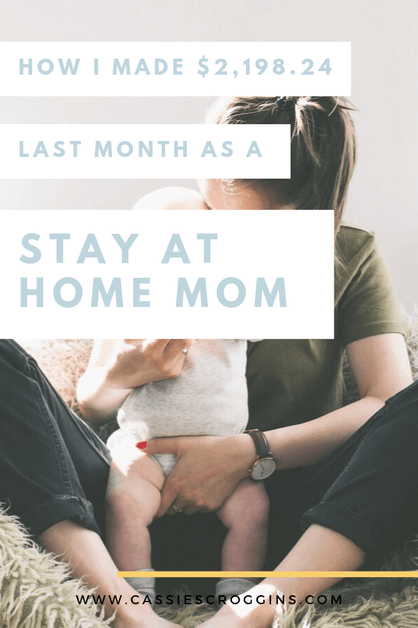 september blog income report stay at home mom job