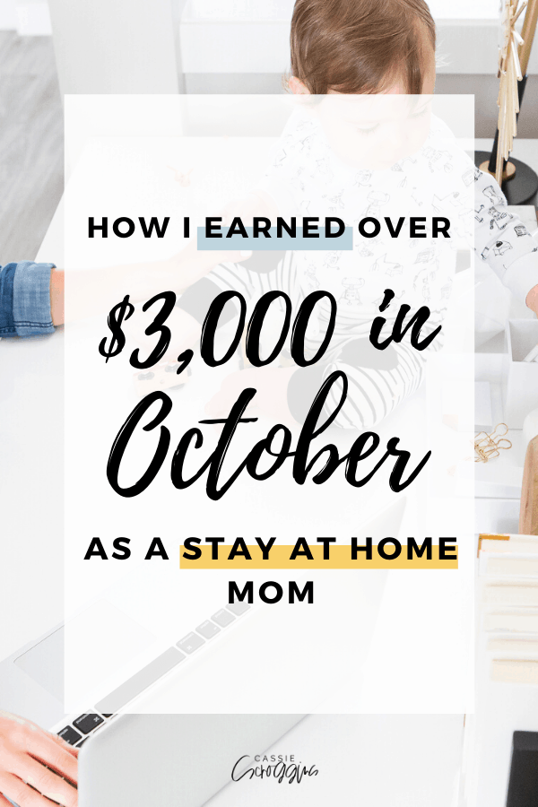 october blogging income report