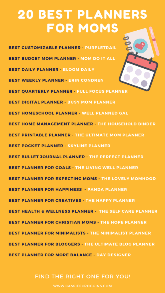 best planners for moms