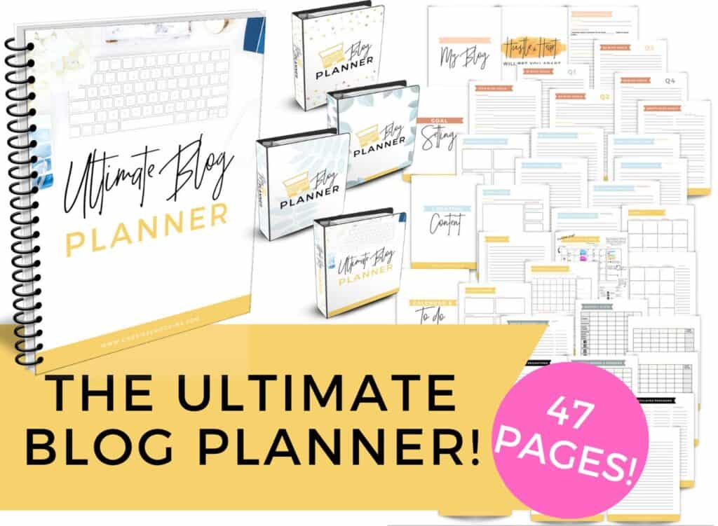 best blogging planner for moms