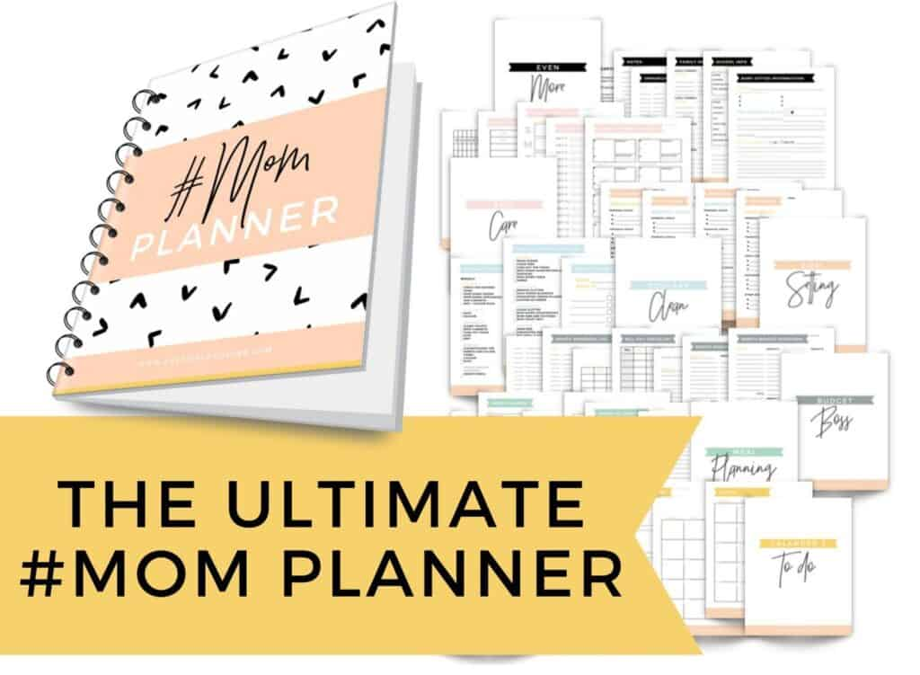 best printable mom planner