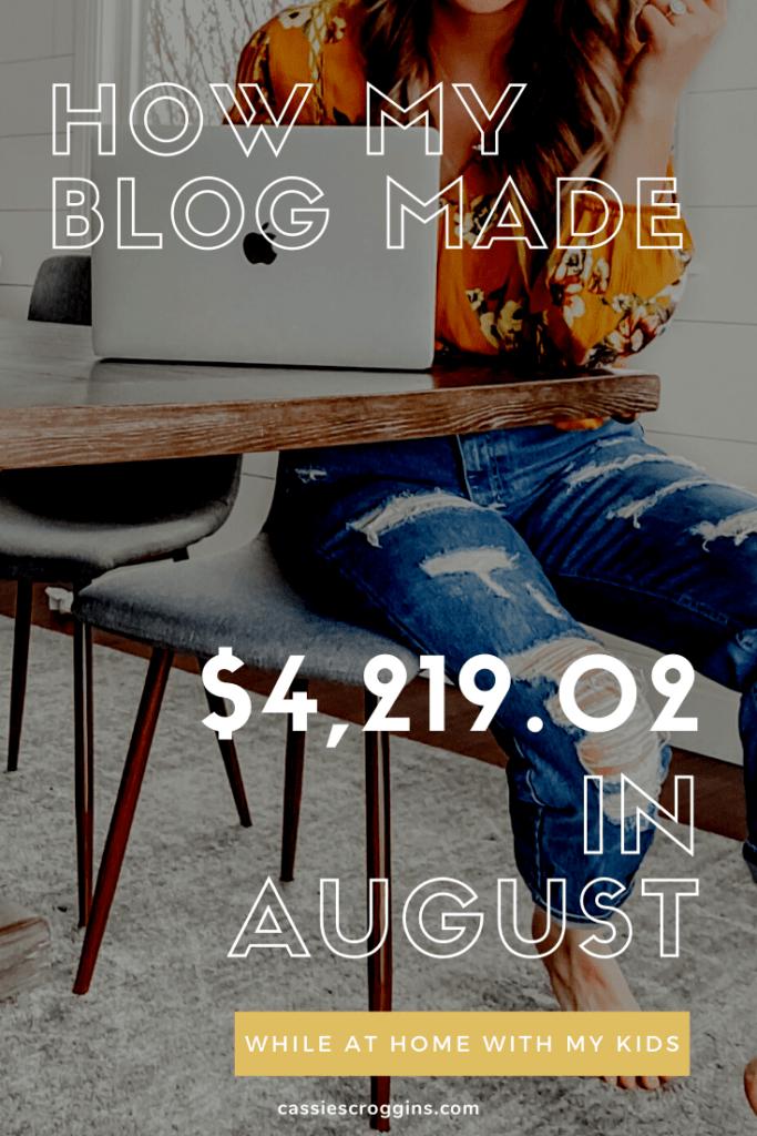 make money blogging income reports