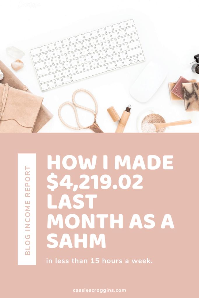 blog income reports