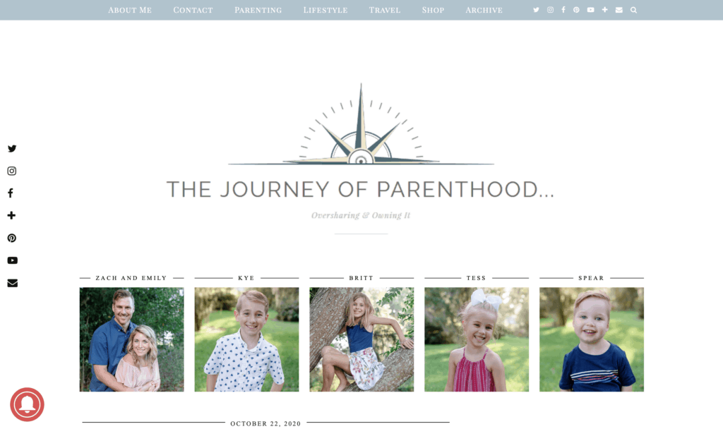 this journey of parenthood