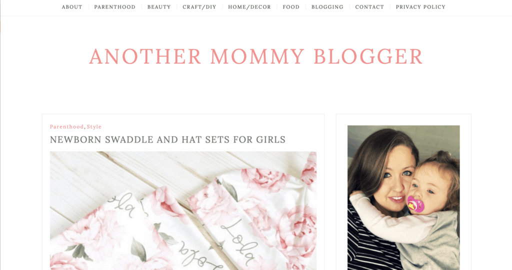 another mommy blog