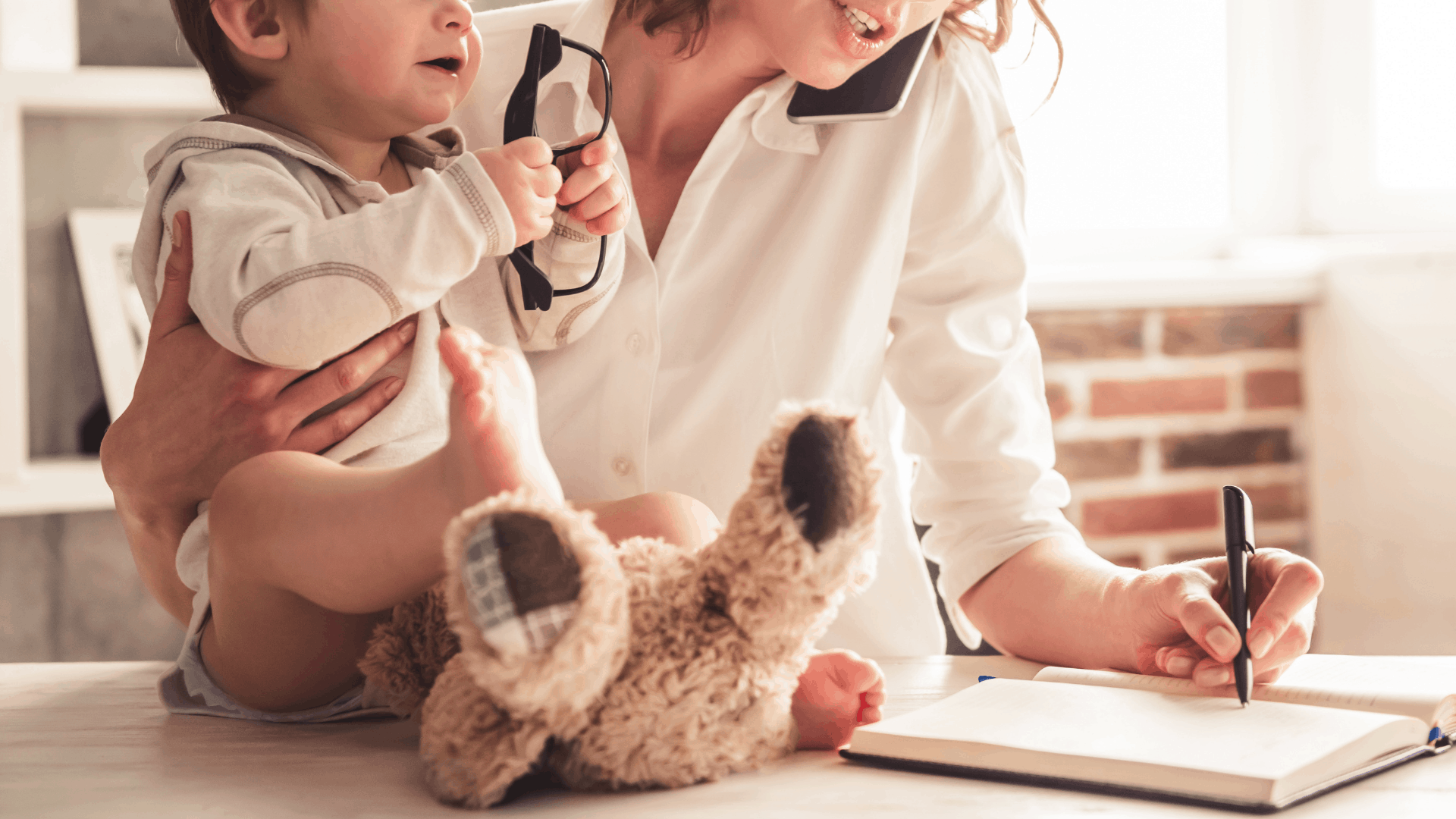 how to work at home as a mom