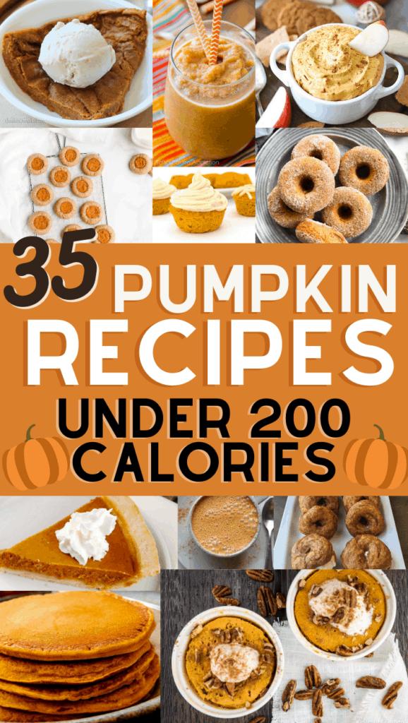 35 healthy low calorie pumpkin recipes