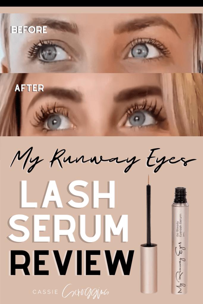 lash serum review my runway eyes