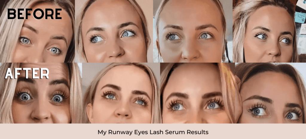highest rates lash serum my runway eyes review